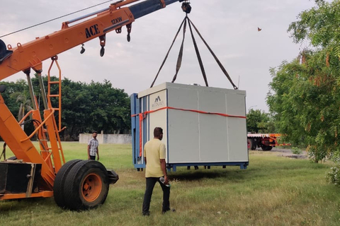 Portable hospital units to treat COVID-19 patients started in Kerala