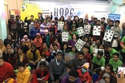 CanKids KidsCan India & Hope B~Lit collaborated to bring smile on cancer patients face