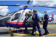 Isolation pod helps save lives and protects air ambulance staff